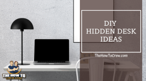DIY hidden desk ideas