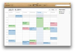Scheduling and Calendar